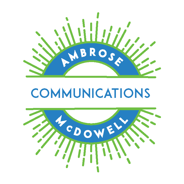 Ambrose McDowell Communications Logo